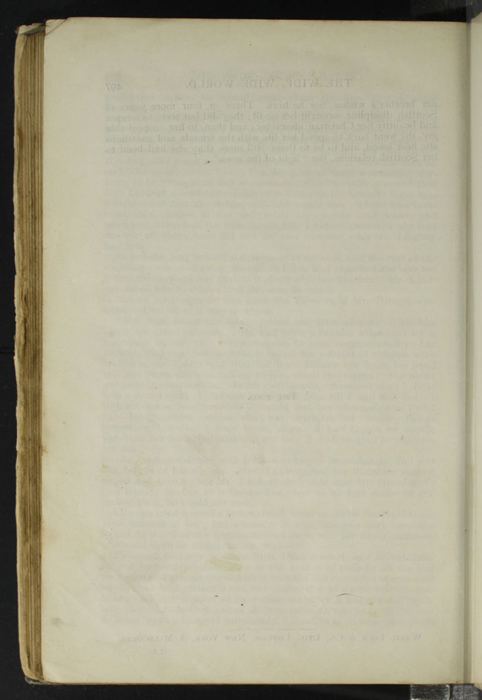 "Verso of Last Page of Text to the [1904] Ward, Lock, & Co., Ltd. ""Complete Edition"" Reprint"