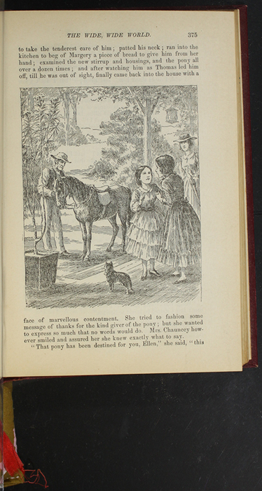 """Illustration on Page 375 of the 1903 J. B. Lippincott """"New Edition"""" Reprint Depicting Ellen Meeting the Brownie"""
