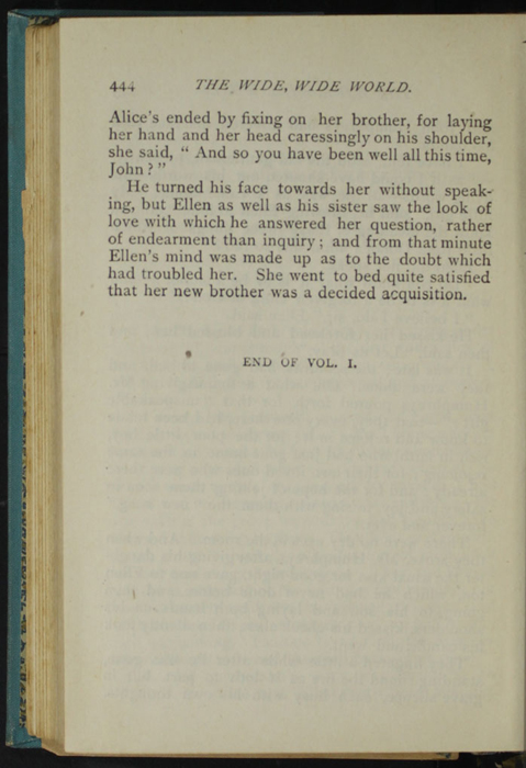 Last Page of Text in Volume 1 of the [1902] Home Book Co. Reprint, Version 2