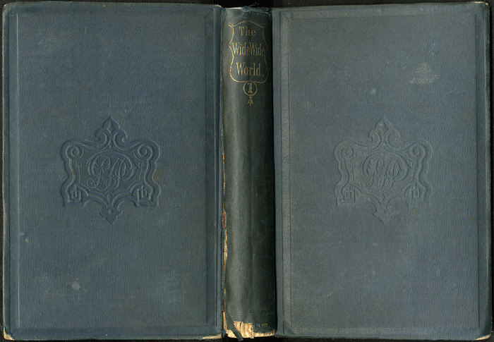 Full Cover of Volume 1 of the 1852 George P. Putnam 16th Edition, Version 2