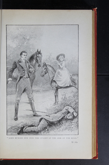 "Illustration on Page 322a of the [1896] S. W. Partridge & Co. ""Marigold Series"" Reprint Depicting the Horse Whipping Scene"