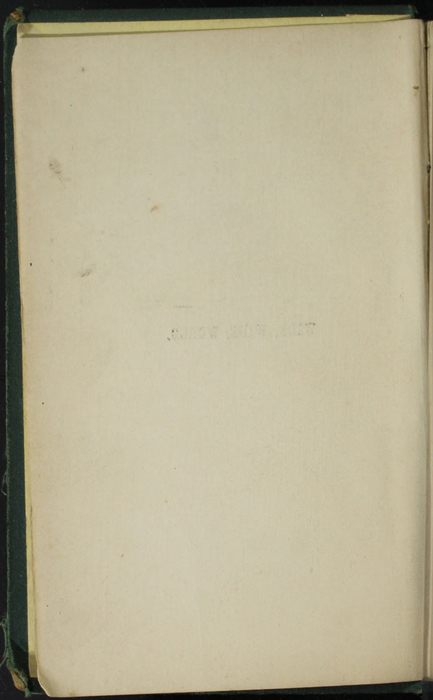 Verso of Half-Title Page to the [1879] Milner & Sowerby Reprint