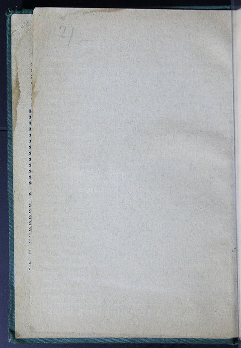 "Verso of First Front Flyleaf of the [1884] Frederick Warne & Co. ""Star Series"" Reprint"