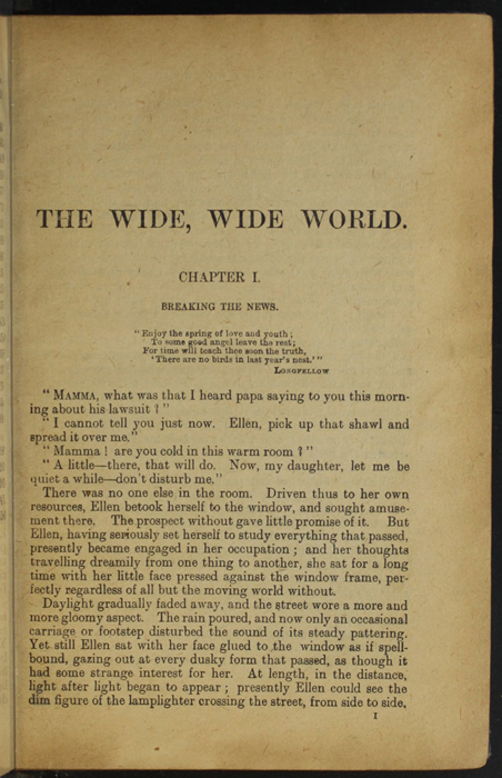 First Page of Text in the [1932] Epworth Press Reprint