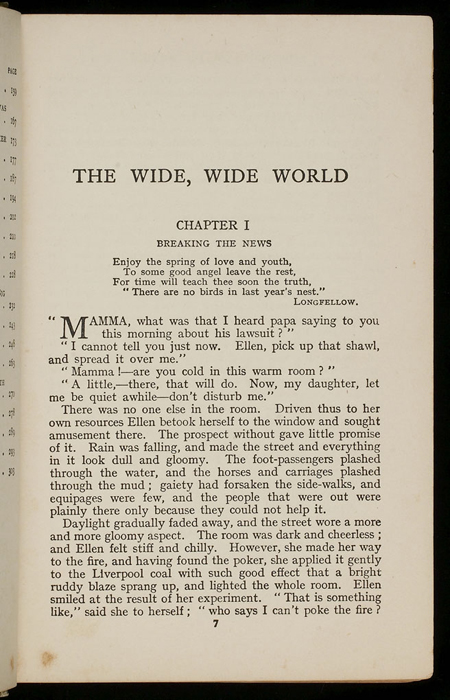 First Page of Text of the [1933] Ward, Lock, & Co., Ltd., Reprint