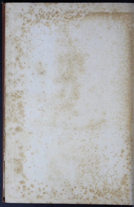 """Verso of Back Flyleaf of the [1899] George Routledge & Sons Ltd. """"Ruby Series"""" Reprint, Version 2"""