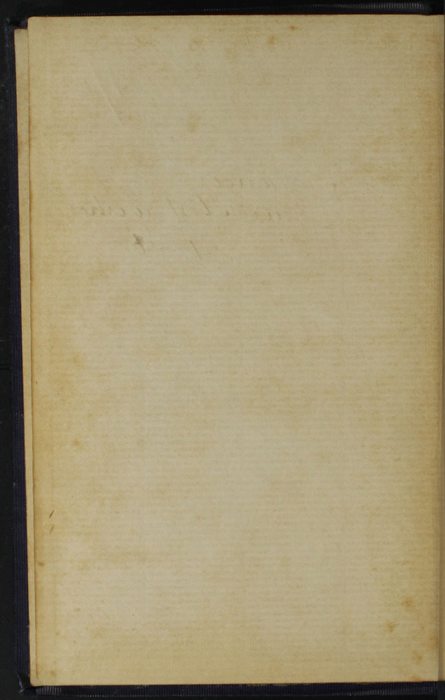 """Verso of Front Flyleaf of the [1896] The Grand Colosseum Warehouse Co. """"Complete Edition"""" Reprint"""