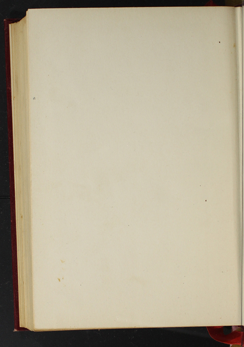 """Verso of Back Flyleaf of the 1903 J. B. Lippincott Co. """"New Edition"""" Reprint"""