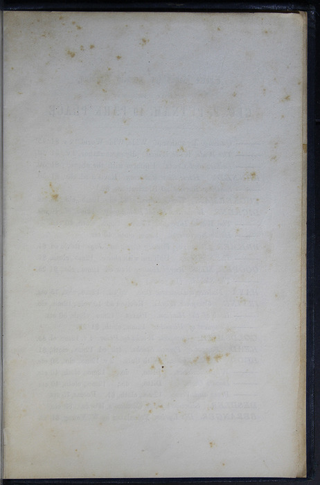 Recto of First Page of Back Advertisements in Volume 1 of the 1852 George P. Putnam 16th Edition, Version 2
