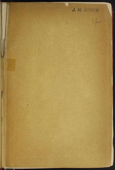 Recto of Back Flyleaf of [1891] James Nisbet & Co. Reprint