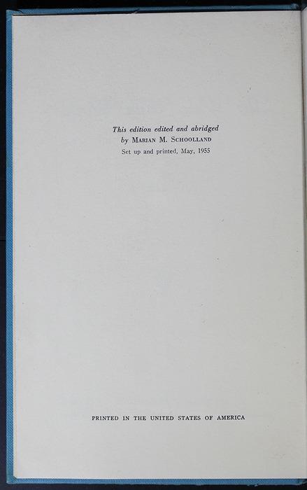 Colophon in the 1955 WM. B. Eerdmans Publishing Co. Reprint