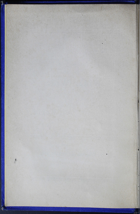 Verso of Half-Title Page to the [1887] W. Nicholson & Sons Reprint, Version 2
