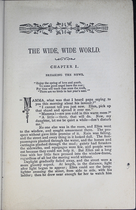 First Page of Text in the [1887] W. Nicholson & Sons Reprint, Version 2
