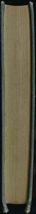 Fore Edge of Volume 1 of the [1902] Home Book Co. Reprint, Version 3