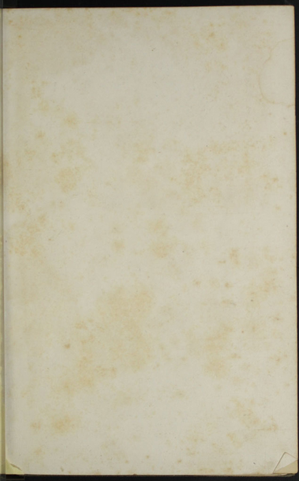 Recto of Front Flyleaf of Volume 2 of the 1851 George P. Putnam First Edition, Version 3