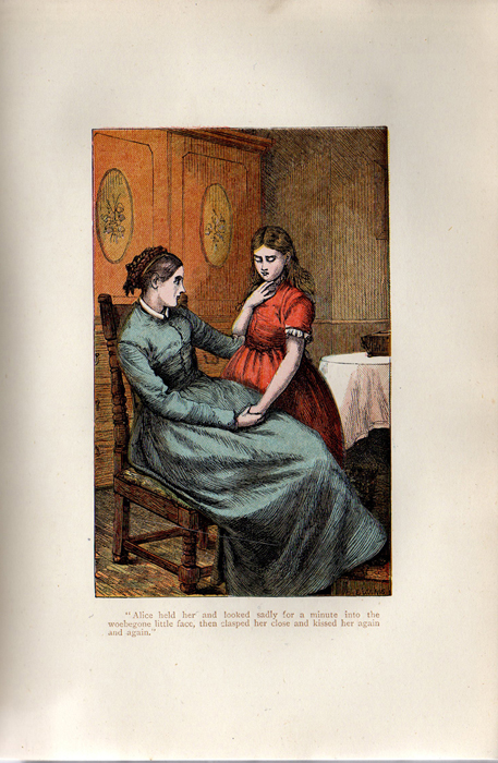 Illustration on Page 436a of the [1899] George Routledge & Sons, Ltd. Reprint Depicting Alice Telling Ellen of Her Illness