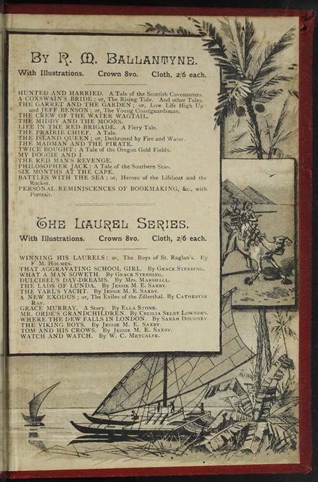 Back Pastedown of [1893] James Nisbet & Co. Reprint, Version 2