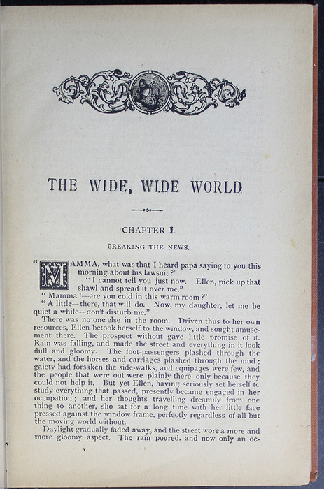 """First Page of Text of the [1899] George Routledge & Sons Ltd. """"Ruby Series"""" Reprint, Version 2"""