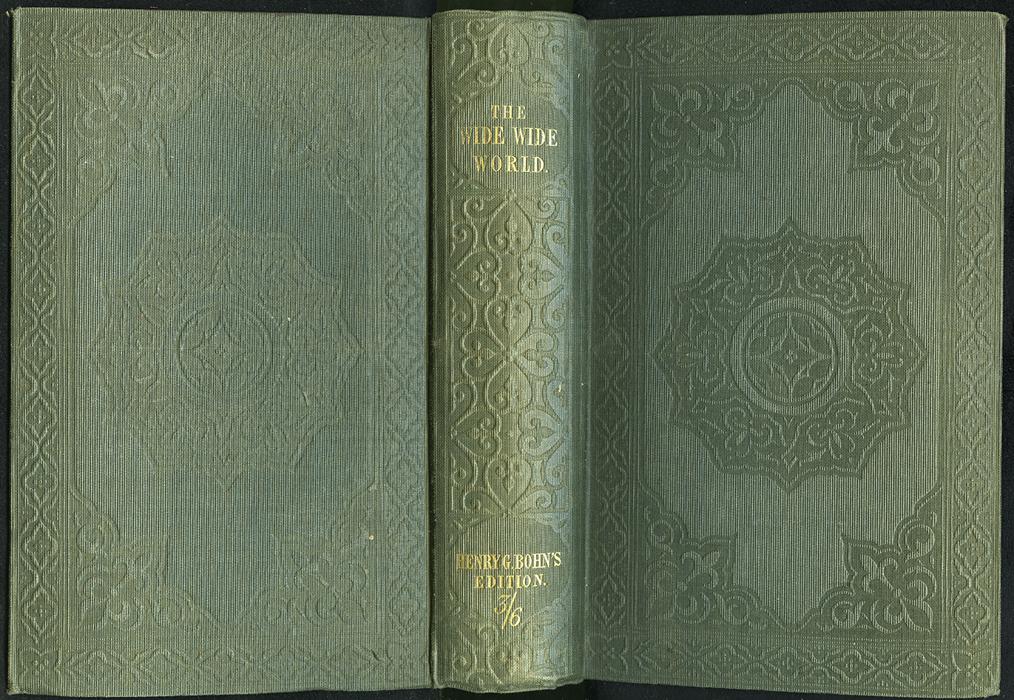 """Full Cover of the 1853 H.G. Bohn """"Standard Library"""" Reprint"""