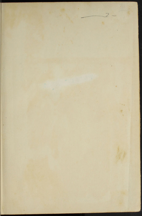 Recto of Front Endpaper of the [1907] Grosset & Dunlap Reprint, Version 1