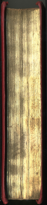 Fore Edge of the [1904] Hutchinson & Co. Reprint