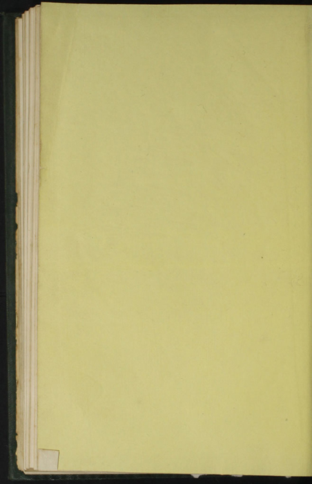 "Verso of Back Flyleaf of the 1853 Eli Charles Eginton & Co. ""Pocket Library"" Reprint"