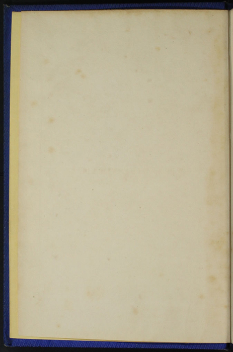 "Verso of Front Flyleaf of Volume 2 of the 1852 James Nisbet, Sampson Low, Hamilton, Adams & Co. ""Second Edition"" Reprint"