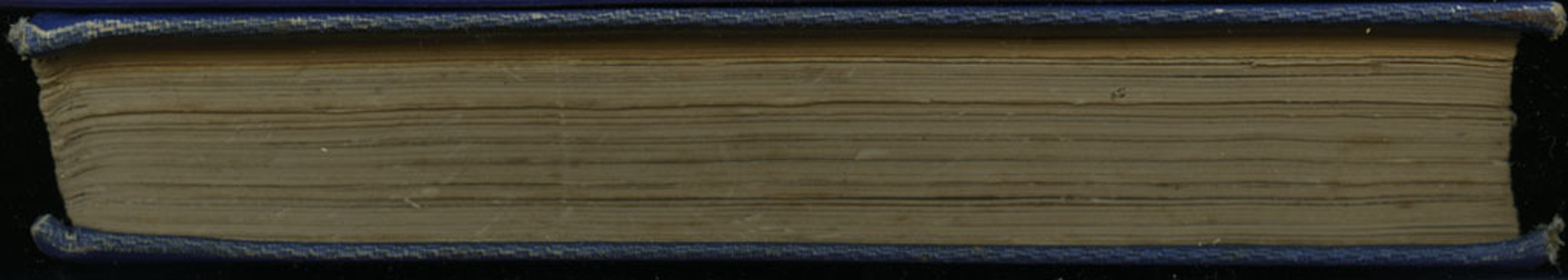 Fore Edge of Volume 2 of the 1852 Sampson Low Reprint