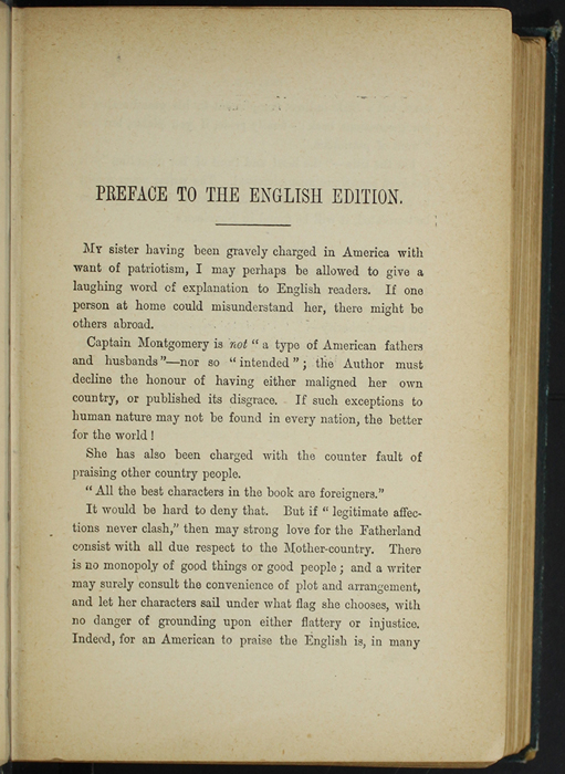 First Page of the Preface to [1893] James Nisbet & Co. Reprint, Version 1