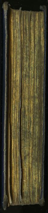 Fore Edge of the 1853 H. G. Bohn Reprint, Version 1