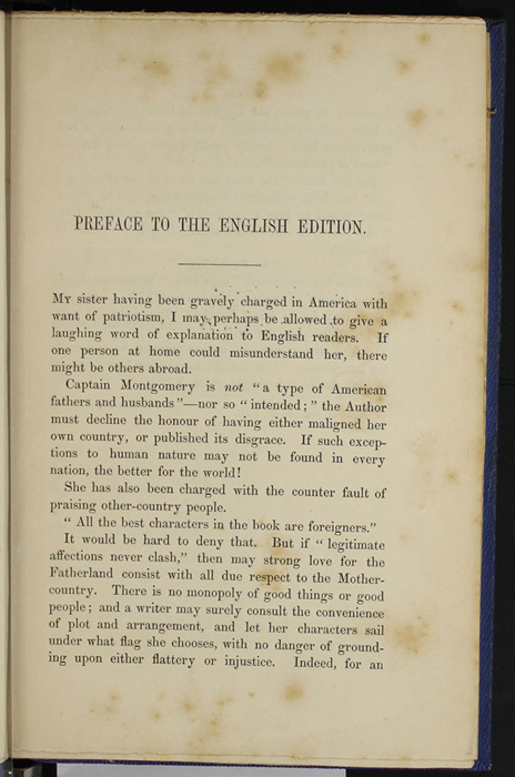 "First Page of the Preface to Volume 1 1852 James Nisbet, Sampson Low, Hamilton, Adams & Co. ""Second Edition"" Reprint"