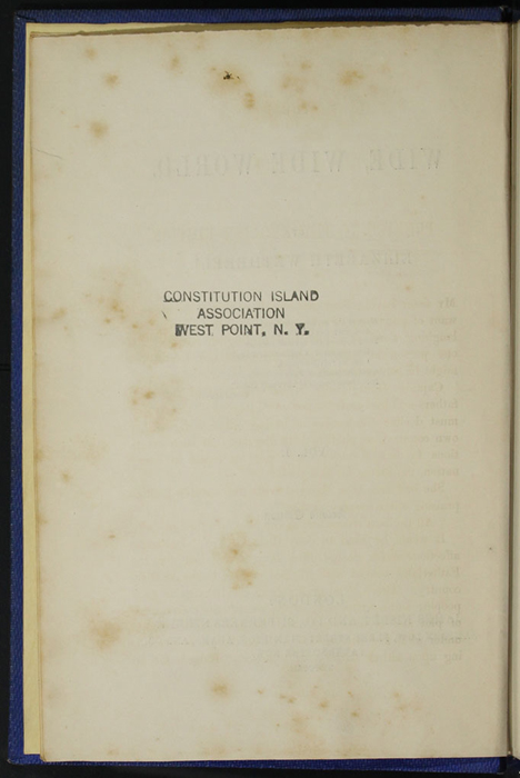 "Verso of Title Page to Volume 1 of the 1852 James Nisbet, Sampson Low, Hamilton, Adams & Co. ""Second Edition"" Reprint"