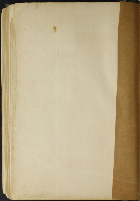 Verso of Third Back Flyleaf of the [1910] R. F. Fenno & Co. Reprint