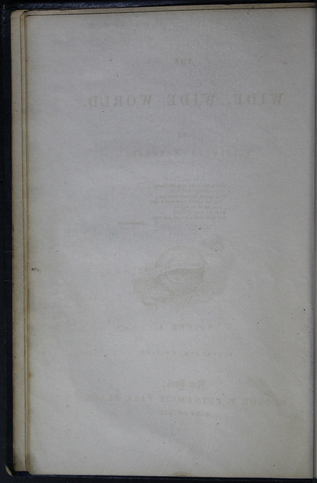 Verso of Third Front Flyleaf of Volume 1 of the 1852 George P. Putnam 16th Edition, Version 2