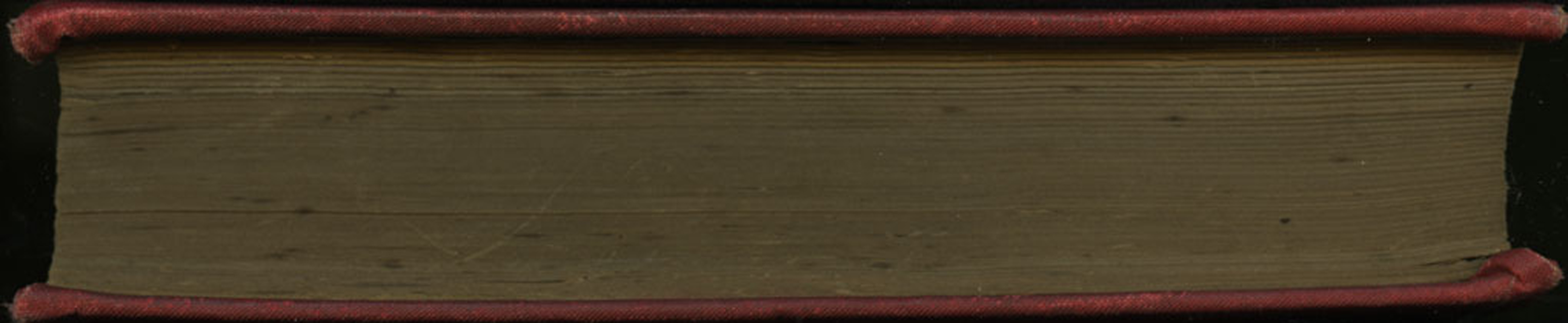 Fore-edge of [1896] James Nisbet Edition