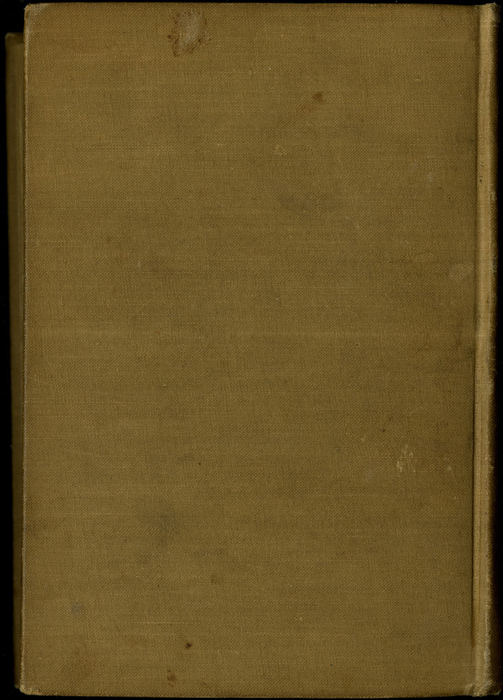 Back Cover of Volume 1 of the [1895] Mershon Co. Reprint