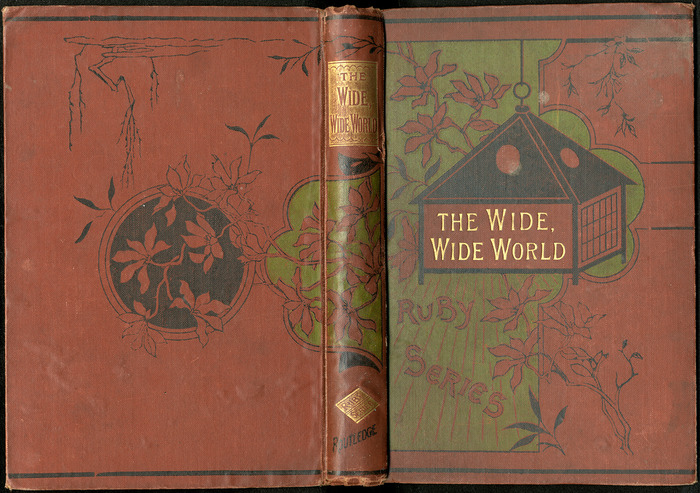 "Full Cover of the [1885] George Routledge & Co. ""Ruby Series"" Reprint"