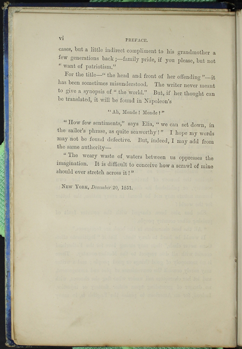 Second Page of the Preface to [1890] Frederick Warne & Co. Reprint