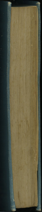 Fore Edge of Volume 1 of the [1902] Home Book Co. Reprint, Version 2