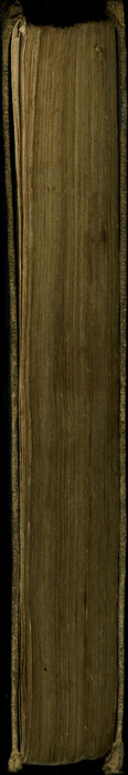 Fore Edge of the 1853 T. Nelson & Sons Reprint