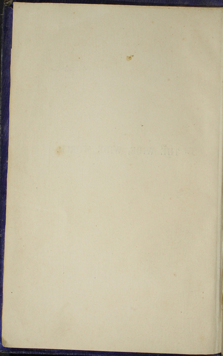Verso of Title Page to the 1853 H. G. Bohn Reprint, Version 1
