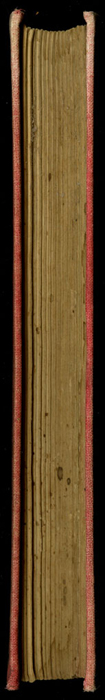 """Fore Edge of the [1882] Ward, Lock & Co. """"Lily Series, Complete Edition"""" Reprint"""