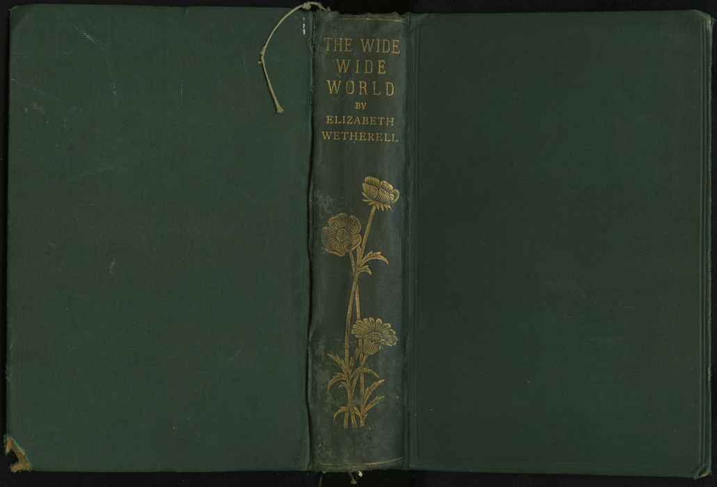"Full Cover of the [1893] Walter Scott, Ltd. ""Emerald Library"" Reprint"