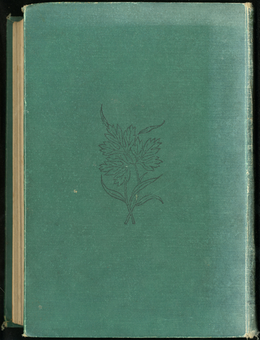 Back Cover of the [1899] George Routledge & Sons, Ltd. Reprint Depicting Ellen and M. Muller