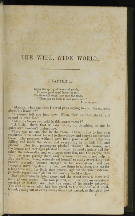 """First Page of Text in the 1853 H. G. Bohn """"Standard Library"""" Reprint"""