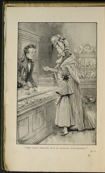 Frontispiece to the [1896] S.W. Partridge & Co. Reprint Depicting Mamma Selling Her Ring