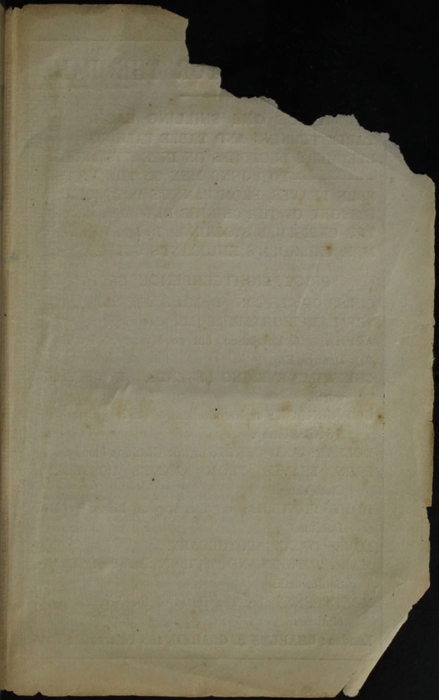 Recto of Back Advertisement in the [1853] Clarke, Beeton, & Co. Reprint, Version 1