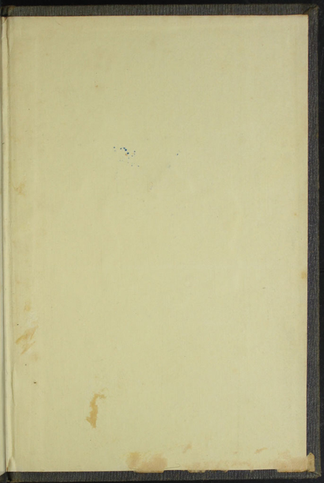 Back Pastedown of Volume 1 of the 1851 George P. Putnam First Edition, Version 3