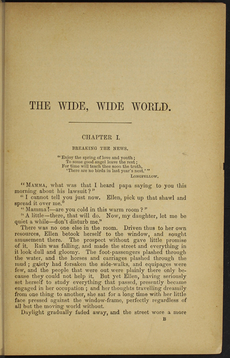 First Page of Text in [1893] James Nisbet & Co. Reprint, Version 2