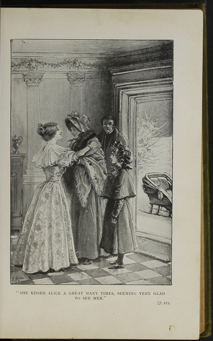 Illustration on Page 222a of the [1910] S.W. Partridge & Co, Ltd. Reprint Depicting Ellen Arriving at the Marshmans'